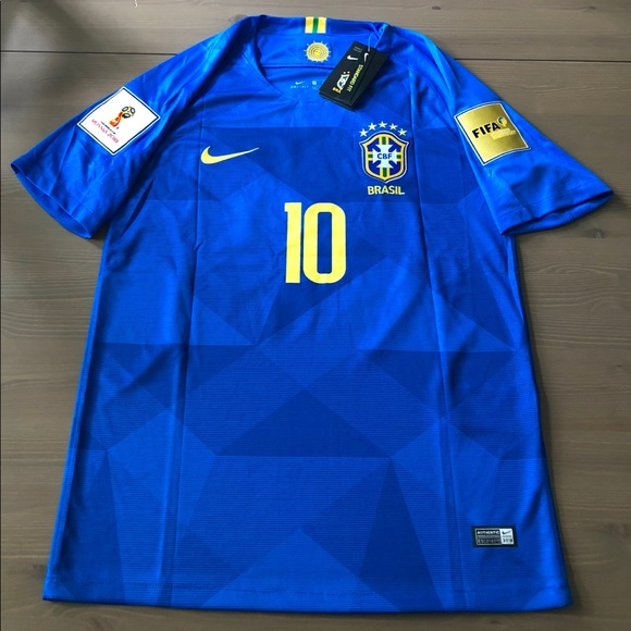 61bed612799 Nike Shirts | Brasil Brazil Neymar Jr 11 Soccer Jersey | Poshmark
